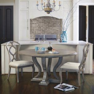 Bernhardt Small Cafe Style Dining Room Table And Chairs