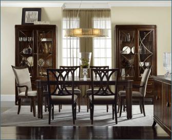 Hooker Furniture Wood Dining Room Set