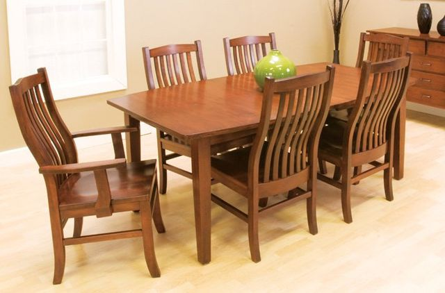 Palettes By Winesburg Medium Wood Dining Room Set