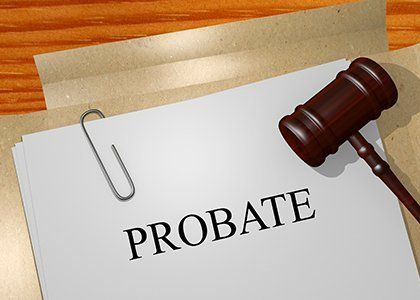Probate legal documents