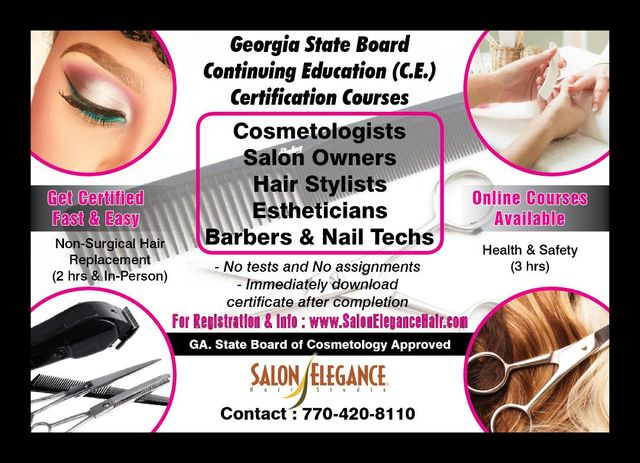 Salon Elegance Hair Studio 770 420 8110 1651 Powder