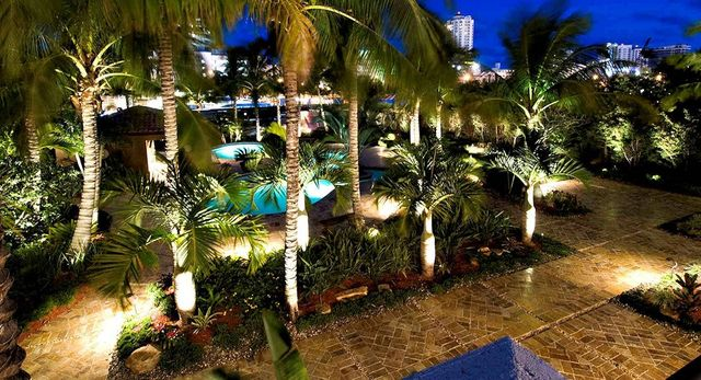 Landscape Lighting Gallery By Of Miami