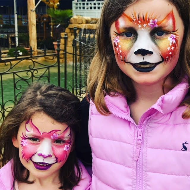 Face painting available in Guildford, Bracknell, and Camberley