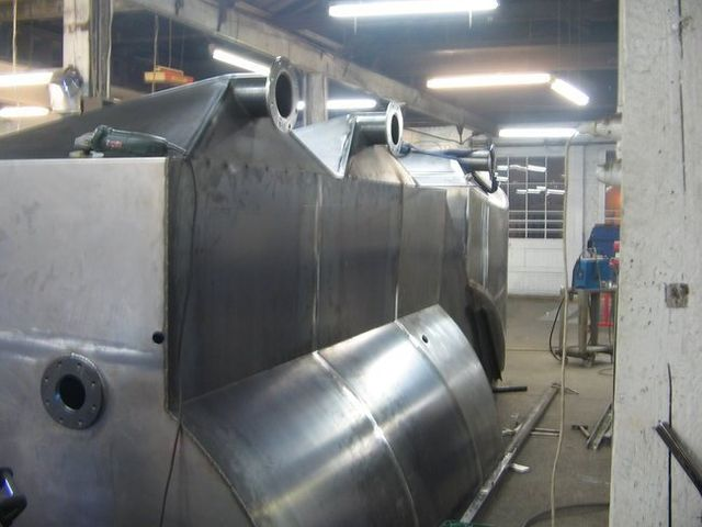 Stainless steel fitouts