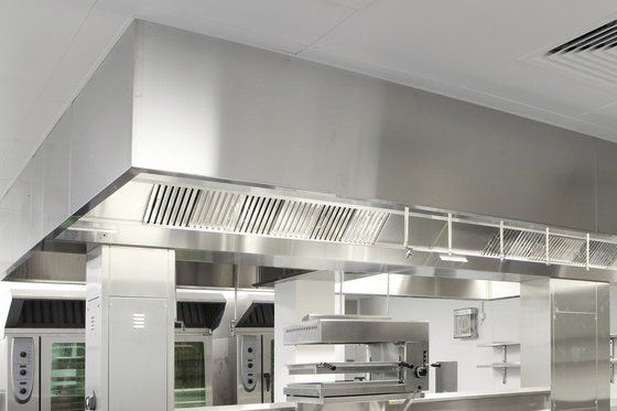 High Quality Commercial Kitchen Canopy Installation Part 28