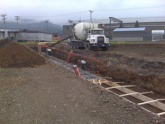 Pouring Concrete in Bradford, PA