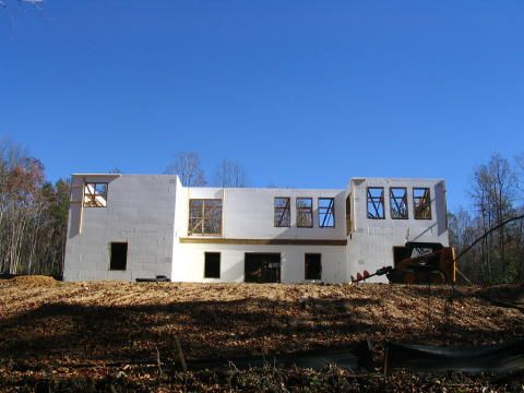 Building a Concrete Home in Olean, NY