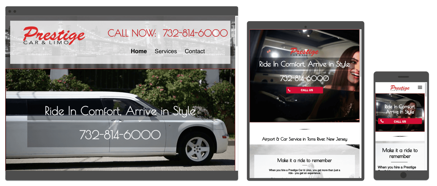 Limo Website Designer