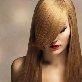 hair after straightening
