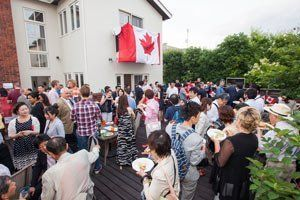 Canada Day party in Nagoya