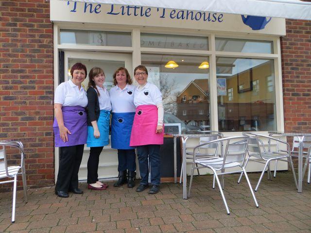 Our teashop in Horsham, RH