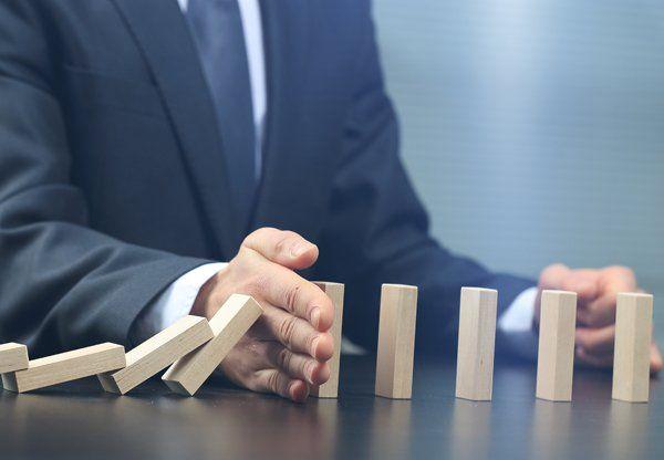 effetto domino bloccato