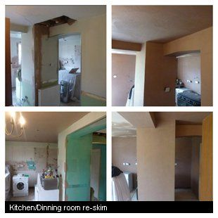 Kitchen/Dinning room re-skim