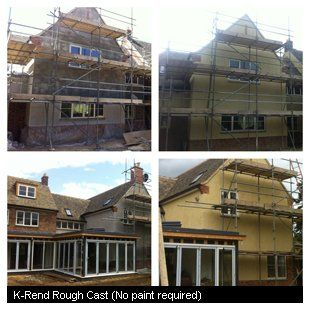 K-Rend Rough Cast (No paint required)
