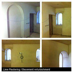 Lime Plastering / Basement refurbishment