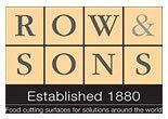 Row & Sons logo