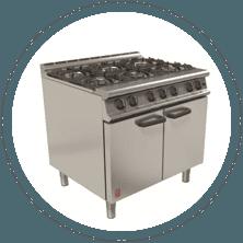 Falcon Six Burner Oven Range G3101