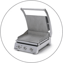 Metcalfe Roband 6 Slice Grill Station