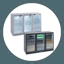 Lec Refrigeration Bottle Coolers Hinged