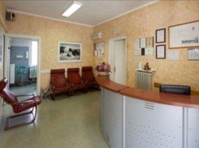 Sala d'aspetto di studio dentistico