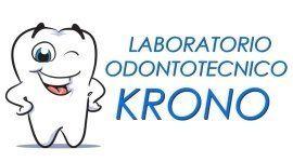 Logo con dente che sorride e scritta