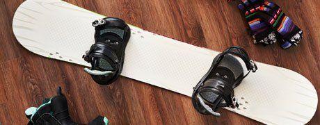Tavole da snowboard a Roma