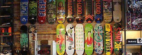 Tavole da skateboard a Roma