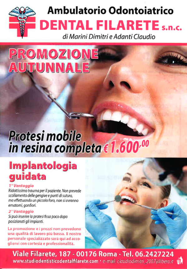Offerte dentista Roma