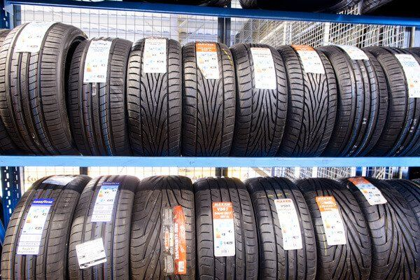 Lots of tyre stock at Medway Tyres Ltd