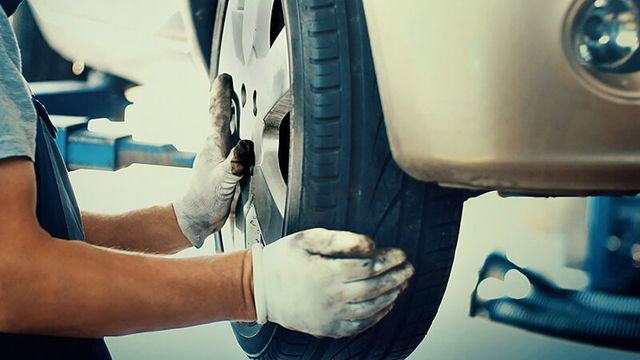 Tyre Fitting Services At Our Garage