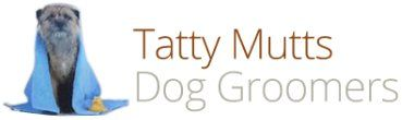 Tatty mutts Dog Groomers logo