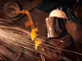Steel Fabrication - Sunderland, North East England - Graythorpe Forge & Engineering - Worker