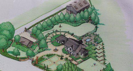 landscape layout design