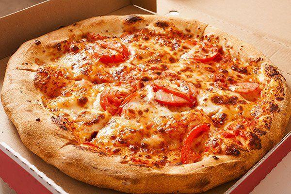 pizza in cartone d'asporto