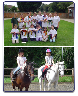 For riding lessons in Milton Keynes, call Loughton Manor Equestrian Centre on 01908 768 933