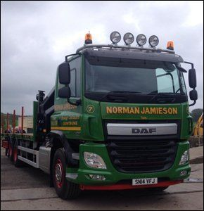 Transport services - Angus, Scotland - Normal Jamieson Ltd - Scaffolding Transportation