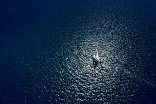 navigazione in mare aperto