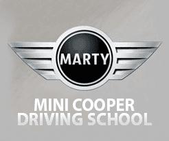 Marty Mini Cooper Driver Training logo