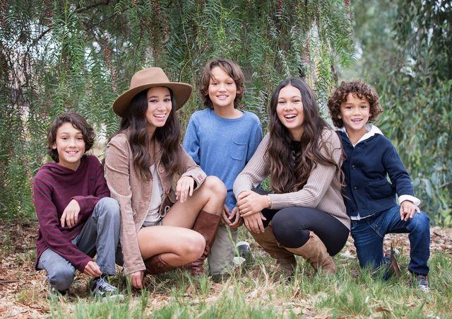 Blue Sky S Studio Orange County Family Photographer
