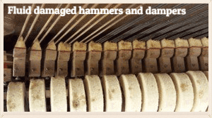 fluid damaged hammers and dampers