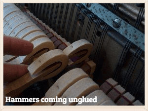 Hammers coming unglued