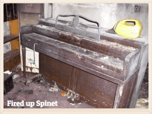 Fired up Spinet