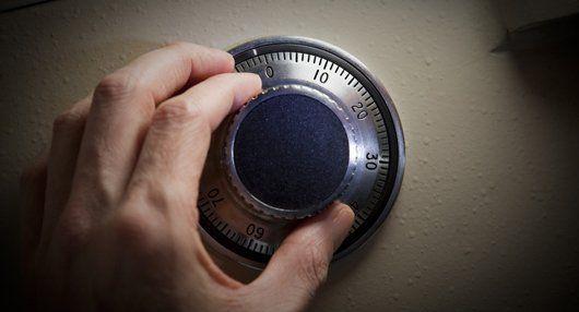 safe lock after maintenance