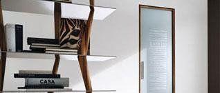 porte vetro ad anta battente o scorrevole