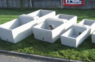 Page Concrete & Steel Ltd: precast concrete products, Crediton