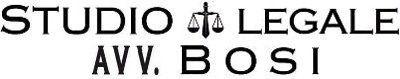 STUDIO LEGALE BOSI AVV. FEDERICO-LOGO