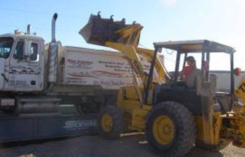 At Rim Country's Rock N Yard we offer the ability for the customer to use our team members and our equipment.