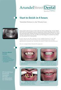 PDF document about Dentures in a Day
