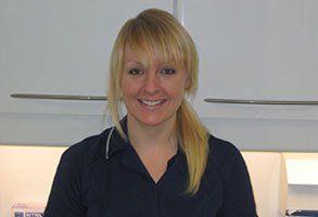 Charlotte Pink, dental nurse/technician