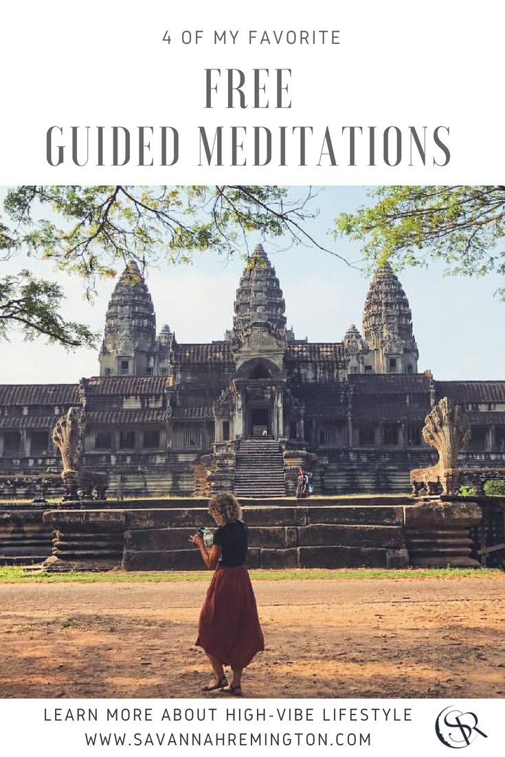 4 of My Favorite FREE Guided Meditations